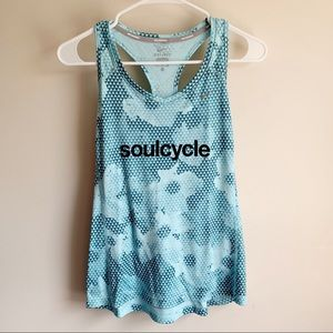 Nike Dri-fit Soulcycle Racerback Athletic Tank Top